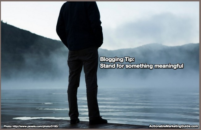 BLogging Superstar Tip