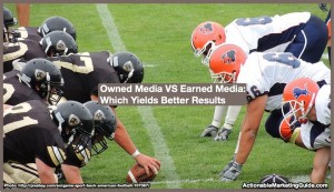 Owned Media VS Earned Media