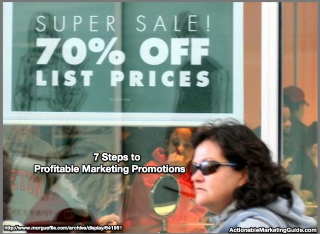 Profitable Marketing Promotions