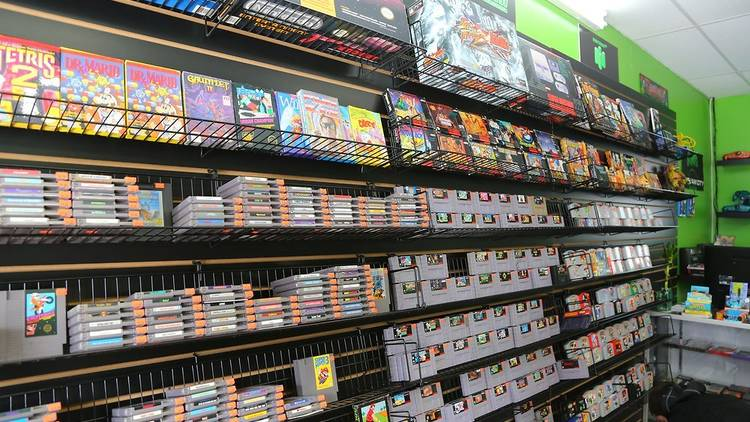 Video games store